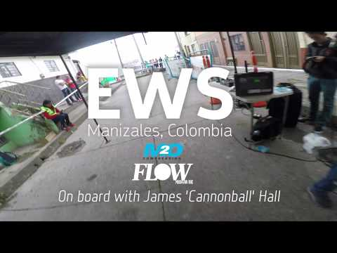 EWS POV with Cannonball - Enduro World Series Manizales, Colombia 2018