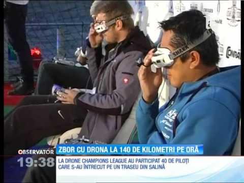 Formula 1 cu drone!