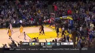 Stephen curry half-court buzzer beater vs pacers