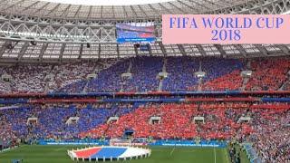 Russia national anthem FIFA World Cup 2018 национальный гимн России (Fan Cam)