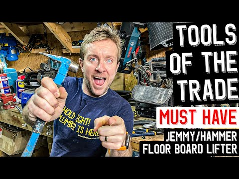 TOOLS OF THE TRADE - Plumbing Tools Must Have - OX MINI HAMMER & JEMMY
