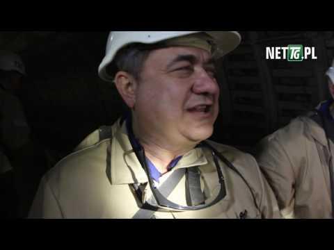 Wiceminister energii w kopalni ROW