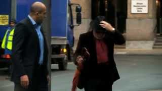 Gary Glitter breaks down in court