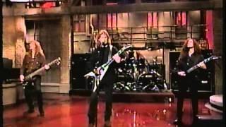 Megadeth -  Live (David Letterman) 1994, April 08 -  HiFi
