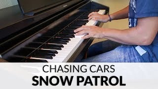 Snow Patrol - Chasing Cars | Piano Cover