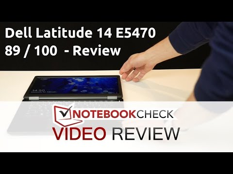 Dell Latitude 14 E5470 business laptop scores very good 89%. Review.