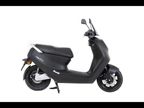 Lexmoto C1S / Yadea YD1200D 2.2kw Electric Moped Static-Review inc comparison : Green-Mopeds.com