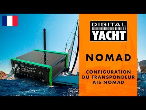 Configuration du transpondeur AIS Nomad - Digital Yacht France