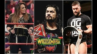 Top 8 Title Changes At Wrestlemania 34 !
