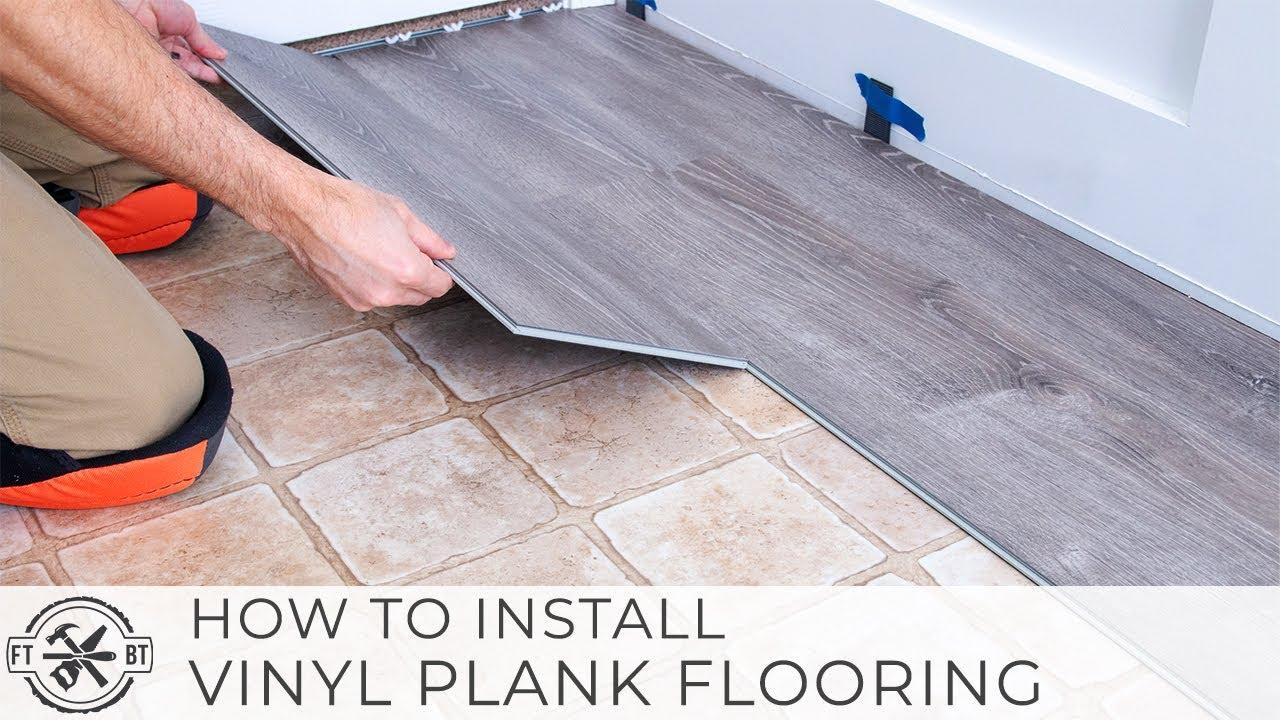 Installing Black Wood Flooring In