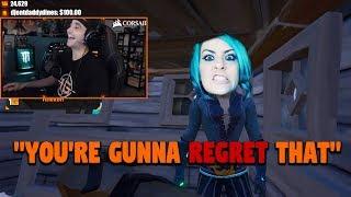 Summit Makes Gamer Girl Rage While Raiding Her Ship!