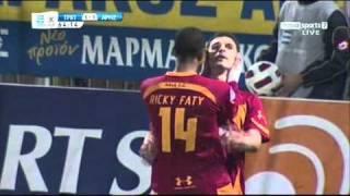 Asteras Tripolis - Aris 1-2 (Koke & Lazaridis Goals)