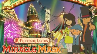 Professor Layton and the Miracle Mask Soundtrack - Dangerous Tricks