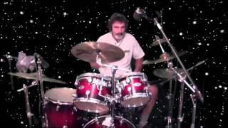 Cinderella Gypsy Road Drum Cover Frank Rizzo.. Out In Space!