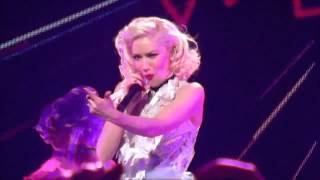 Gwen Stefani performing Harajuku Girls