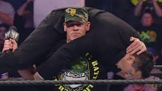 John Cena attacks Todd Grisham: Raw, November 6, 2006 width=