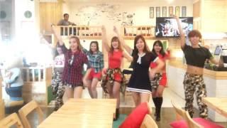 151213 -MAGNITUDE 7.2- TWICE OOH AHH - DANCE PRACTICE @ Gentlemen Cafe