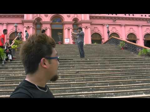 アキーラさん市内散策16!バングラデシュ・ダッカ!ピンクパレス!Pink-Palace,Dahka,Bangladesh