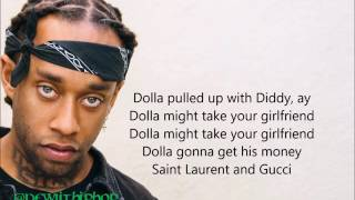 Ty Dolla $ign & Wiz Khalifa - Brand New (lyrics) 2016