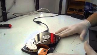 Como Reparar um Disco Rigido