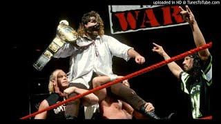 Mankind 2nd WWF Theme ''Schizophrenic'' (Remix) w/ Arena Effect