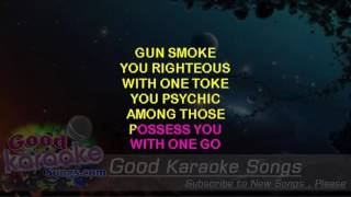 Clint Eastwood -  Gorillaz (Lyrics Karaoke) [ goodkaraokesongs.com ]