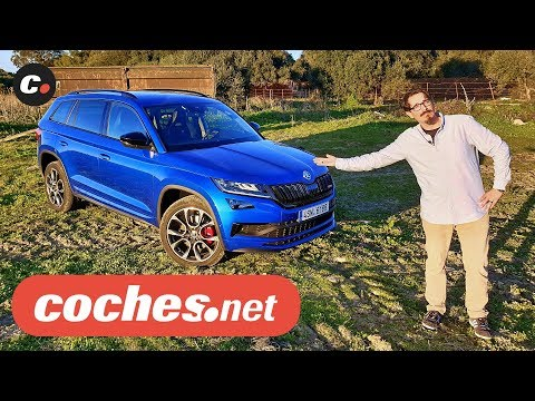 Skoda Kodiaq RS 2019 SUV | Primera prueba / Test / Review en español | coches.net