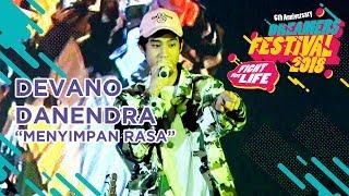 "DEVANO DANENDRA - ""MENYIMPAN RASA"" LIVE AT DREAMERS FESTIVAL 2018"
