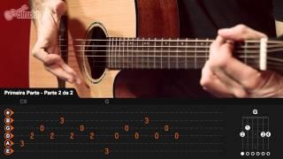 Videoaula Choram As Rosas (aula de violão completa)