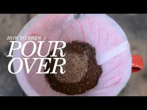 Pour Over Brew Method