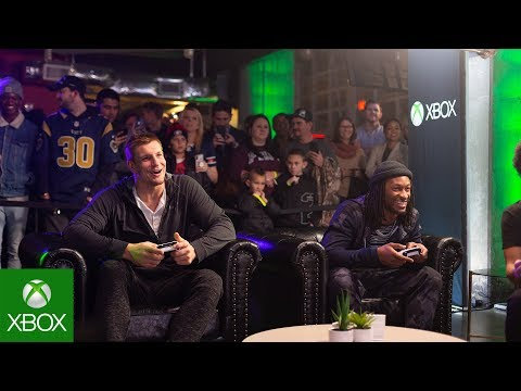 Xbox Sessions: Game Before the Game (ft. Todd Gurley & Rob Gronkowski)