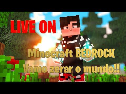 Minecraft - Survival Bedrock 1.17.11 - Sera que eu fico vivo  ? - JOGANDO COM OS INSCRITOS #SORTEIO