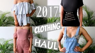New Year, New Clothes! 2017 TRY ON Clothing Haul   SHANI GRIMMOND