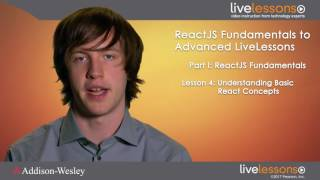 React js Fundamentals and Advanced LiveLessons Introduction - React JS LiveLessons