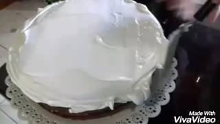 Decoração de bolo (Moana)-Delicia's da Silvania