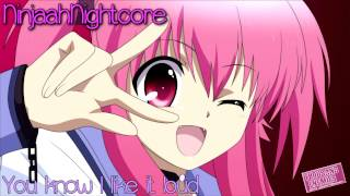 Nightcore - I Like It Loud