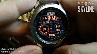 soon: Hitoshi Skyline for Samsung Galaxy Watch & Gear