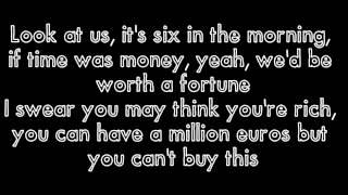 Millionaires by The Script (Lyrics)