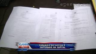 Foragido da justiça é capturado na capital 27 01 2015