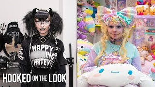 The Dark Side Of Harajuku Style You Haven't Seen Yet | Style Out There | Refinery29 width=