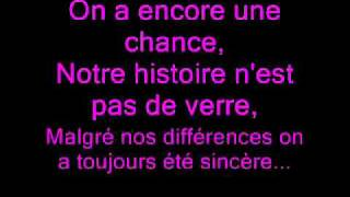 Sheryfa Luna Feat. Mathieu Edward - Comme avant (Lyrics)