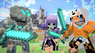 "Minecraft Song and Minecraft Animation ""PVP"" Minecraft Song by Minecraft Jams"