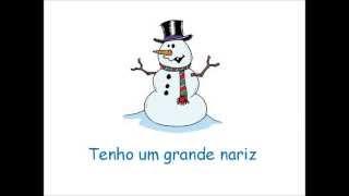 Inverno - Sou um boneco de neve (Nova versão)