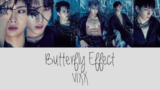 VIXX - BUTTERFLY EFFECT Color Coded Lyrics [Rom/Eng/Han] 1080p