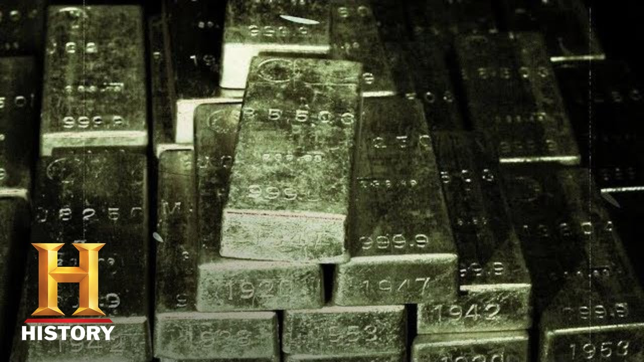 Stolen WWII Gold Found in German Tunnels