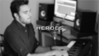 """David Bowie - """"Heroes"""" Live Cover by Tom Butwin (3/52)"""