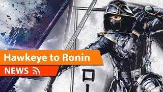 Ronin First Look at Full Armor Revealed Avengers Endgame