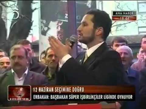 Fatih Erbakan AKP yi anlattı