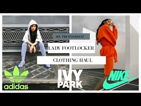 My Photoshoot with Lady Foot Locker | Haul Video