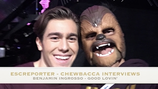 Benjamin Ingrosso - Good Lovin' - Melodifestivalen 2017 - The Chewbacca Interview